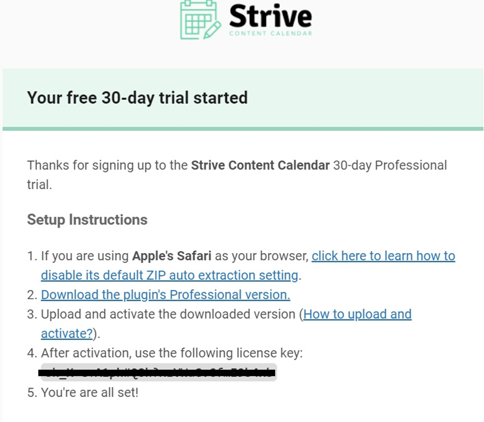 How to Use Strive - Installation